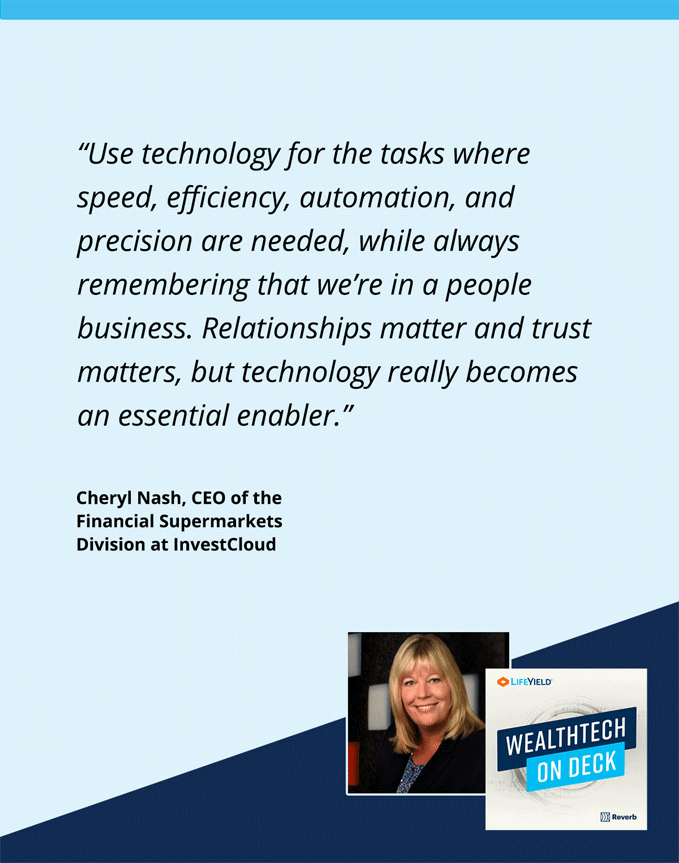 Wealthtech On Deck Podcast Cheryl Nash