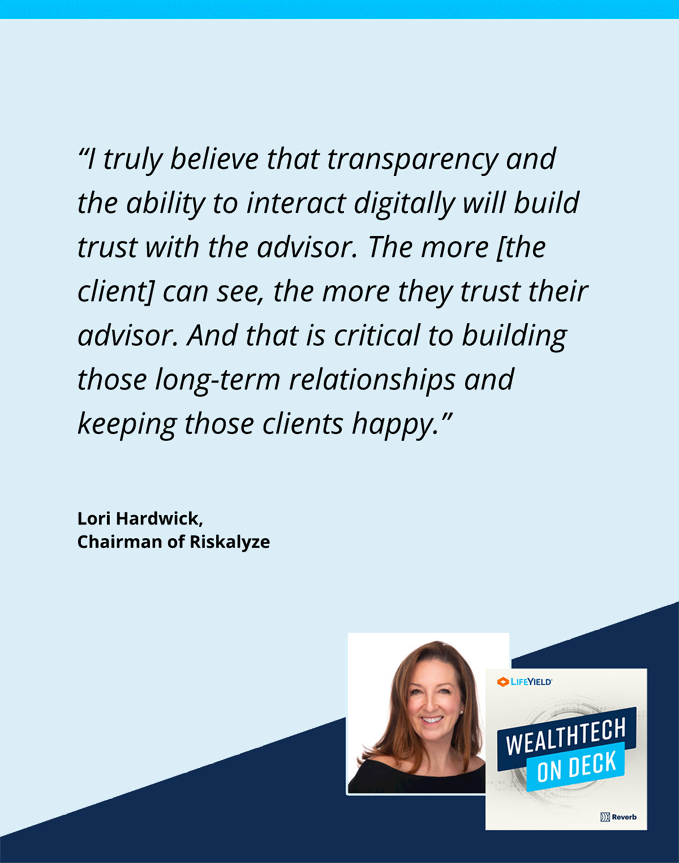 wealthtech on deck podcast with Lori Hardwick