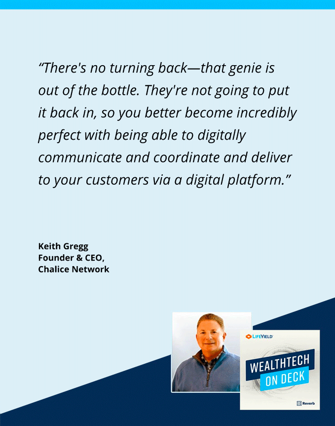 wealthtech on deck podcast keith gregg